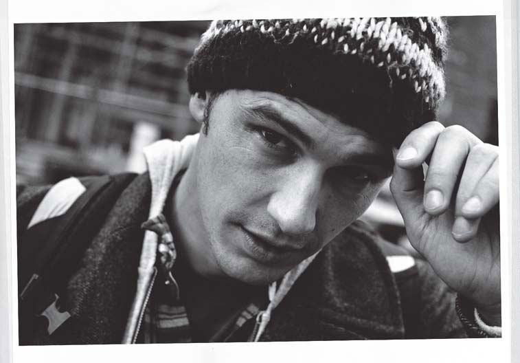 James Franco in New York Photograph by Andreas Lazlo Konrath; W magazine February 2011.