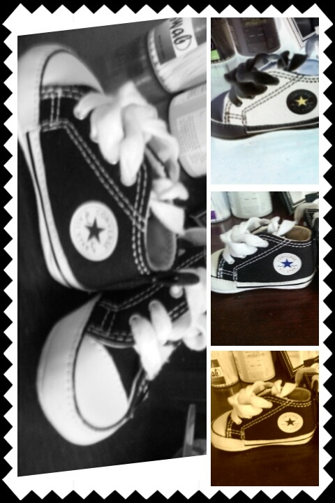 MY babys first chucks