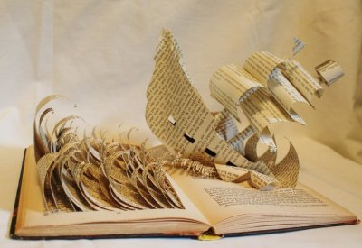 antes88:  Kidnapped by Robert Louis Stevenson book art:  http://writtenonmyhands.tumblr.com/post/43258901291/ianbrooks-pop-up-stories-by-jodi-harvey-brown