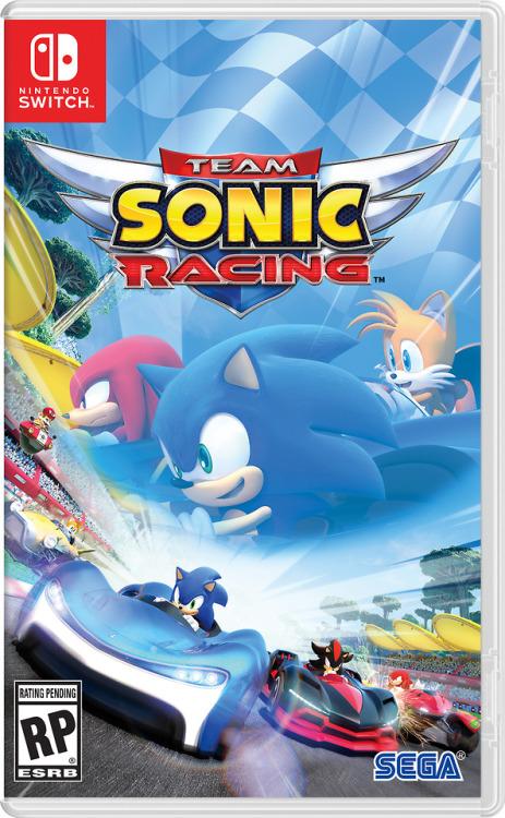 Sonic Sonic the Hedgehog Project R Team Sonic Racing sega