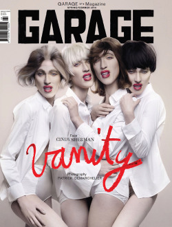 Cindy Sherman at Garage Magazine no. 4