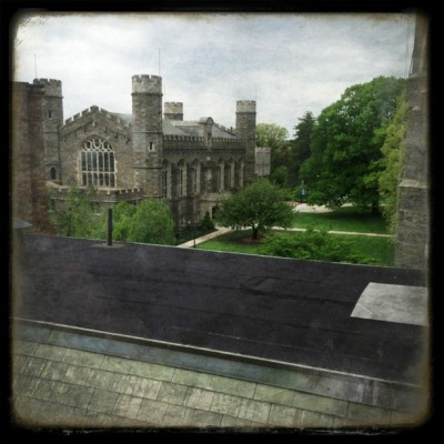 Crazy spaces in Bryn Mawr. / on Instagram http://bit.ly/147iaAO