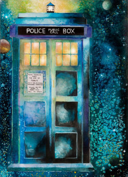 storenumbersix:  Time and Relative Dimension In Space by wishfulpainting
