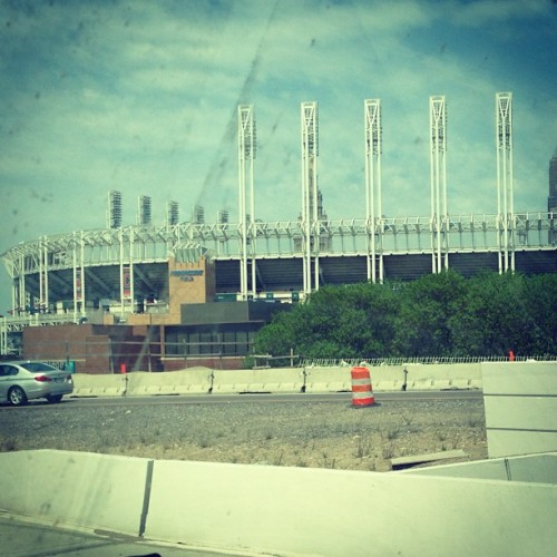 Indians are decent this year. Passed their stadium a little bit ago.