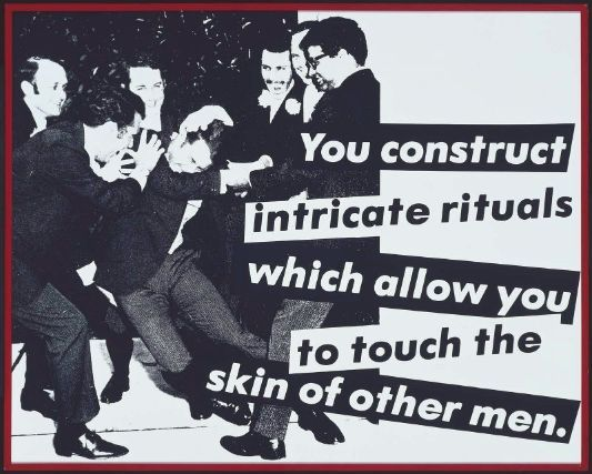 Untitled (You Construct Intricate Rituals), Barbara Kruger, 1981