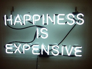 Happiness is expensive, Alejandro Diaz.