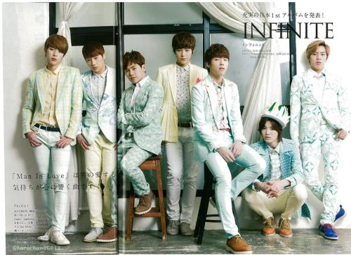 niingyu64:  [SCAN] INFINITE : Haru Hana Magazine Vol.18  ©haruchan05011  Do not edit , crop or remove the watermark.