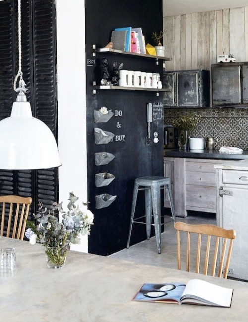 myidealhome:   do&buy chalkboard list (via kitchens-sfgirl)