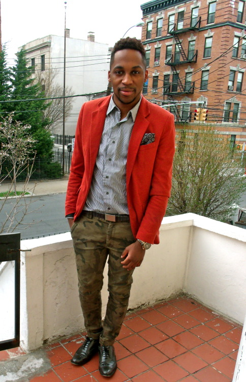 blackfashion:  Jerijah West, 24 (NYC) westampersand.tumblr.com