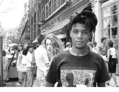 JEAN MICHEL BASQUIAT A true Artist R.I.P December 22, 1960 – August 12, 1988