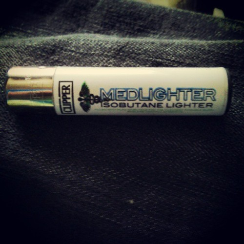 #clipper #medlighter #isobutane #ecofrigginfriendly #recycled #refillable #reflintable #collectable #cheaperthanabic #betterthanabic