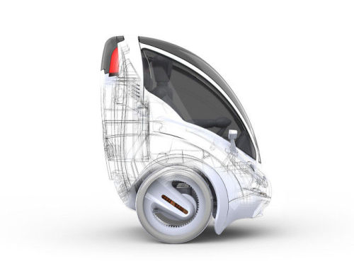 smartercities:  A Two-Wheeled Electric Vehicle To Zip Through City Streets | Co.Exist  The Citi.Transmitter is an adorable single seat modular transportation device, designed to solve our urban traffic problems.