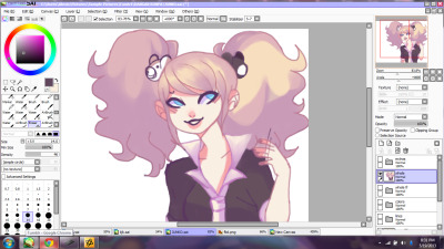 another junko wip because she's rly fun to draw dskjd