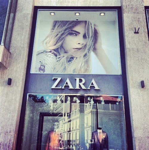 "Cara Delevingne: ""I think they spelt my name wrong hahaha!"""
