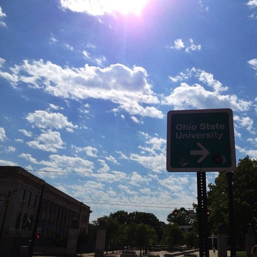 Beautiful day out! (at The Ohio State University)