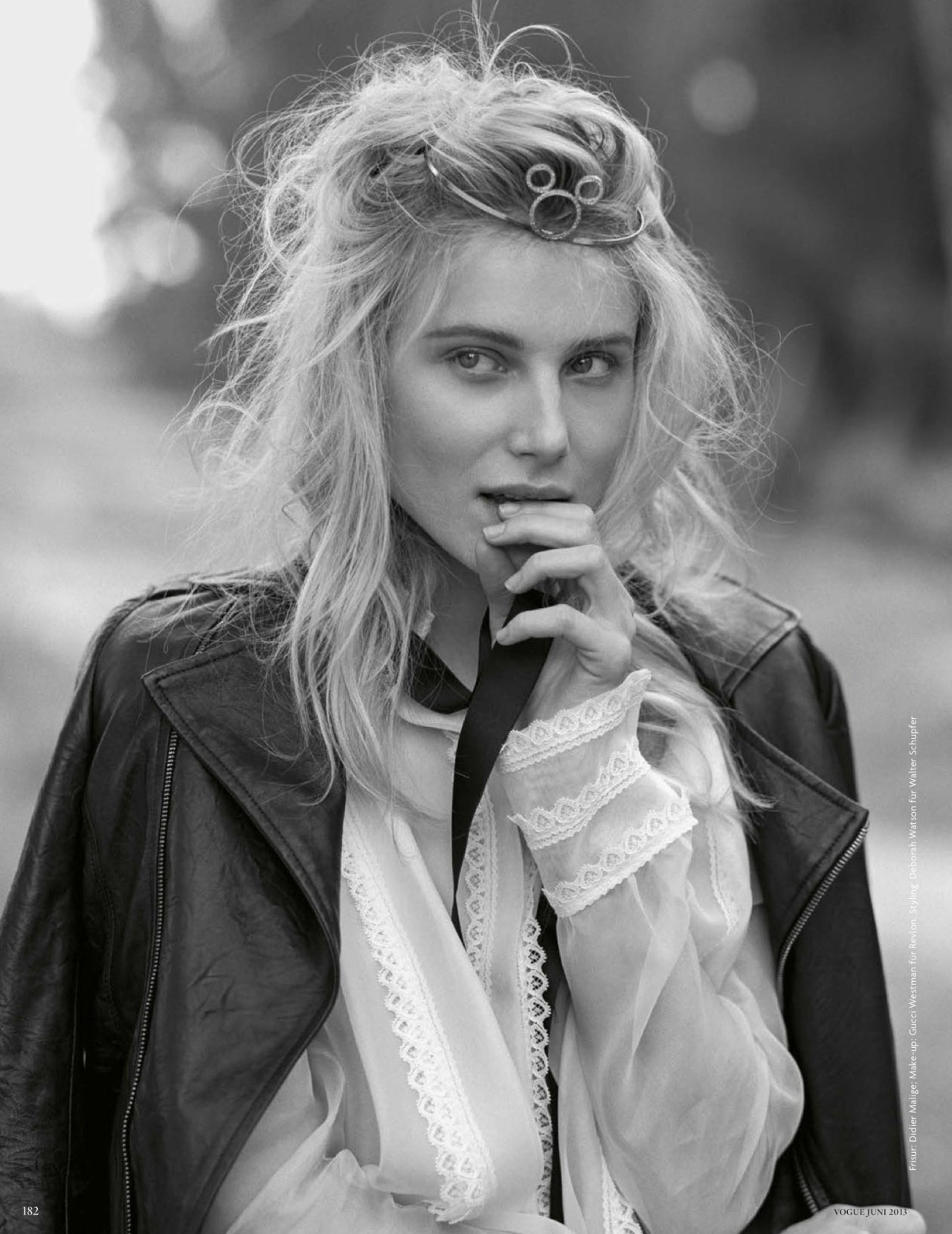 Dree Hemingway for Vogue Germany