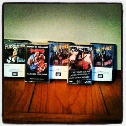My Old PLASMATICS Cassettes