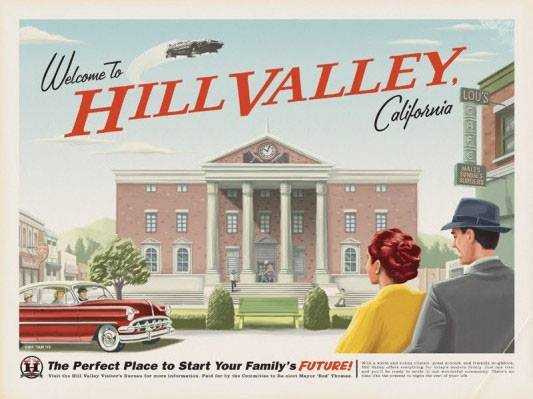 Welcome to Hill Valley, California