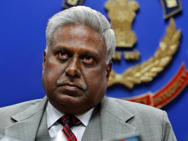 """Outrage after India's top policeman Ranjit Sinha says 'if you can't prevent rape, you enjoy it' India's top police official apologized Wednesday for saying, """"If you can't prevent rape, you enjoy it,"""" a remark that has outraged women across the country. Central Bureau of Investigation chief Ranjit Sinha made the remark Tuesday during a conference about illegal sports betting and the need to legalize gambling. The CBI, the country's premier investigative agency, is India's equivalent of the FBI. """"If you cannot enforce the ban on betting, it is like saying, 'If you can't prevent rape, you enjoy it,""""' he said. (Photo: AP Photo/Mustafa Quraishi, File)"""