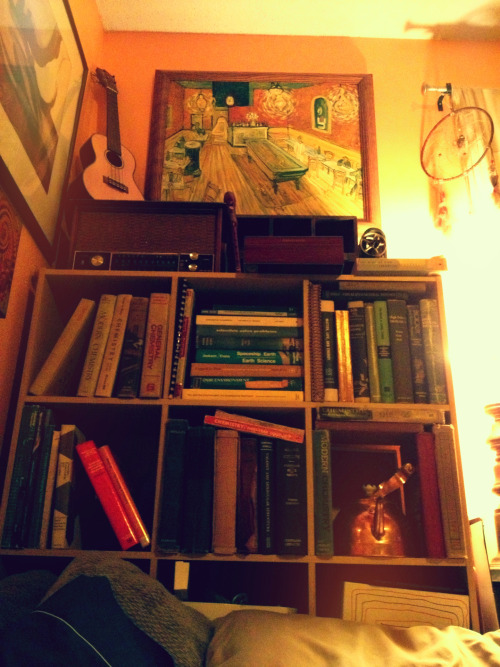 alexanderglass:  my small collection of old science books
