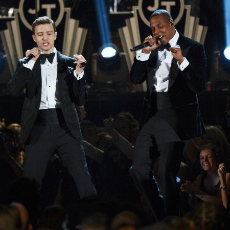 respectyourselfb:  A rumor that JT and Jay-Z will be going on a 10 city tour!!! Lord Baby Jesus let this be real!!! ~liz