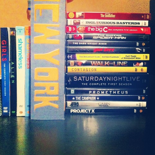 I've bought all of these since Christmas break…I have a problem.. #movies #addicted #somany