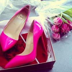 Pink Louboutins are always a yes.