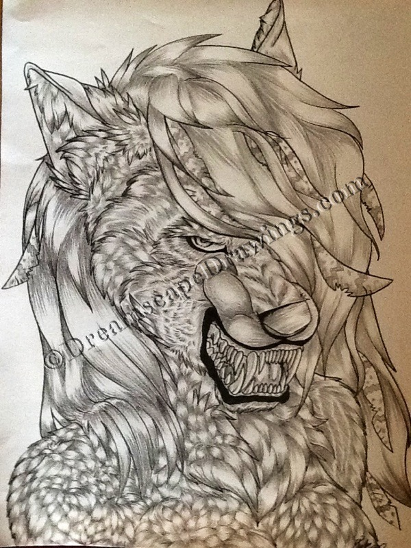 xayaa:  Traditional high-detail graphite commission for an FA user :) taken its iPad — original being sent to her.