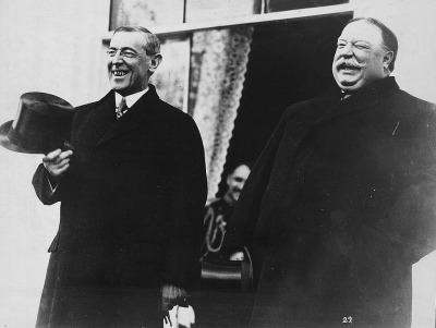 It's well known that William Howard Taft was a fat man. It's less well known that his successor Woodrow Wilson, idealistic internationalist, had a mouthful of severely rotten teeth.