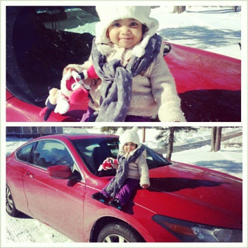 #Sophia about that #coupeLife #teamHonda #pow #Rockland #NY