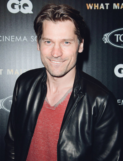 Nikolaj Coster-Waldau attends The Cinema Society with Tod's & GQ screening of  'What Maisie Knew' on May 2, 2013.