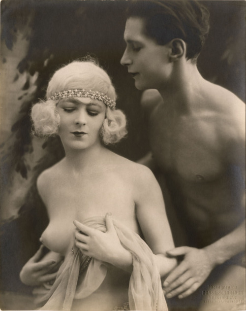 "Roseray and Cappella in ""The Great Temptation"" by Ernst Schneider, 1926"