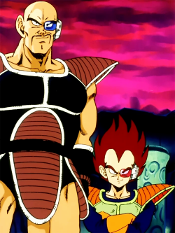 supamuthafuckinvillain:  They made Vegeta to be like 2ft tall when he was 1st introduced. Somehow the nigga grew like two feet in the Cell Saga.