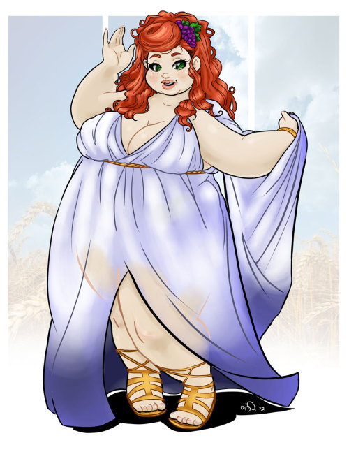 deep-in-the-debu:  Eupadeia, Goddess of the Body and Comfort