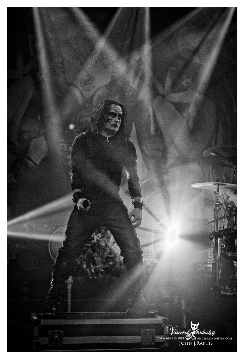 Cradle Of Filth Live @ Billboard, Melbourne, AustraliaMay 10 2013Photo By John Raptis visceralindustry.com