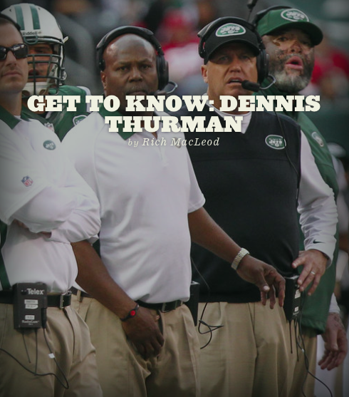 richmacleod:  Mike Pettine is gone, and now it's Dennis Thurman's defense to run… Or is it? Continue reading: How much of a difference will Dennis Thurman make with Rex Ryan at the helm?, Gang Green Nation