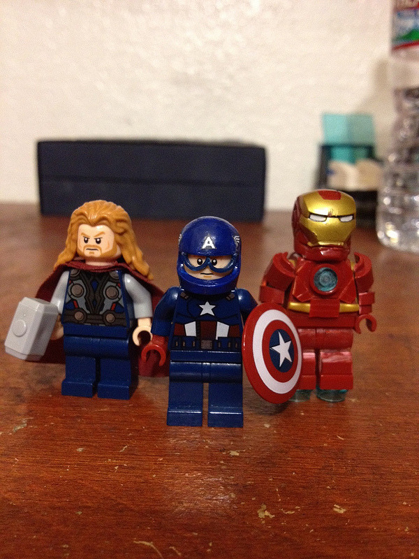 Avengers Thor, Captain America/ IronMan Better look than original to me. -edario
