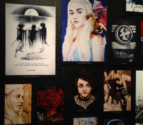 gameofthrones:  Visit the Game of Thrones Exhibition in NYC until 4/3 to see if your fan art is on display. INFO: http://itsh.bo/XfFD3H