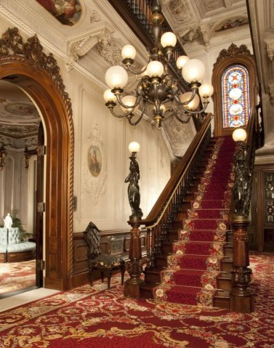 highvictoriana:  Interior of Victoria Mansion. Photo Courtesy of Victoria Mansion. Photo Credit: David Bohl.