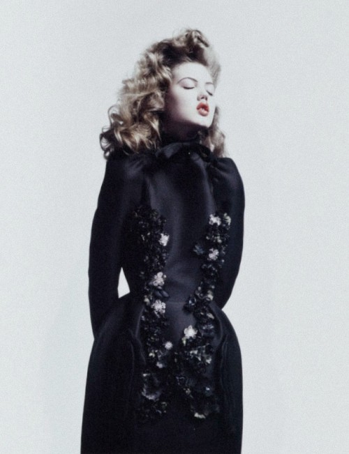 pradaphne:  Lindsey Wixson photographed by Willy Vanderperre for V Magazine #66.