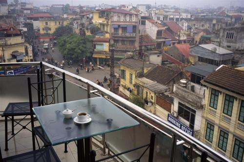Coffee in Hanoi.
