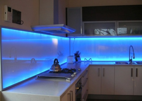 Brilliant Led Lighted Backsplash