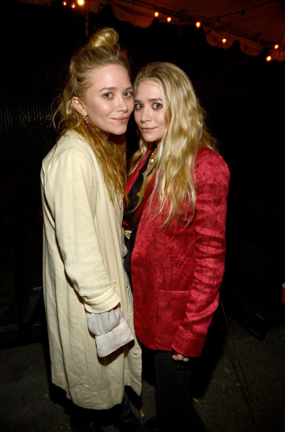 the-olsens:  27 April 2013: Mary-Kate & Ashley at The Rolling Stones concert