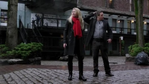 "fempopmagazine:   Once Upon A Time Defines Good And Evil With Baelfire Revelations Morrison in particular has had her character sidelined all season. Emma's been there, but she's been little more than a plot device disallowed to have emotions beyond what a script demands. She hasn't been organic in quite a while and last night she came roaring back.  This was the badass pragmatist bounty hunter who is horrified at the idea of responsibility or magic but desperately wants a family and a son and some measure of ""happiness."" That woman who made a wish on a candle and then gave Regina a fragile smile as she explained it. Read More"