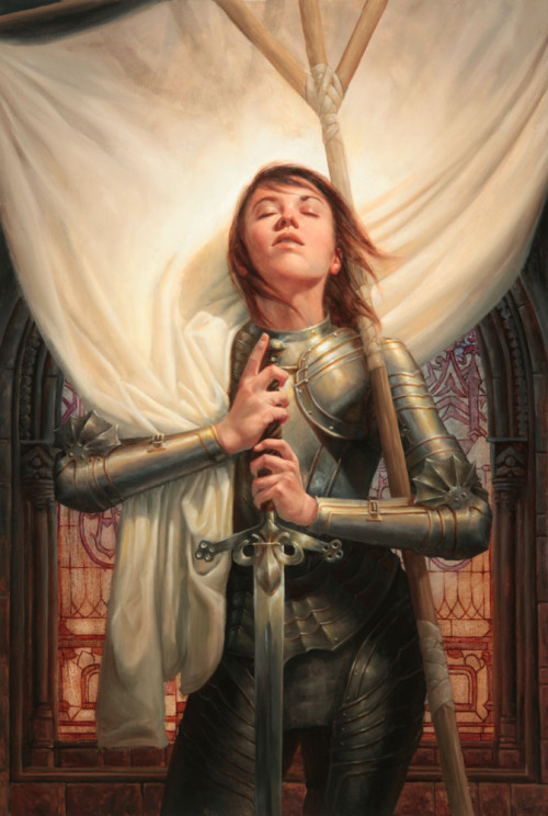 leikkona:  Joan of Arc by ~Michael-C-Hayes