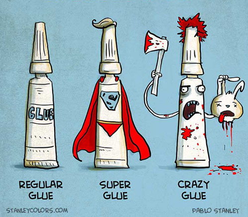 Types of Glue[stanleycolors]