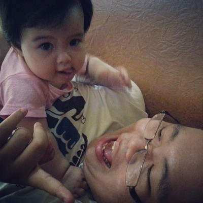 Didi n kei.. beloved brother and niece.. so cute worrr.. i mean me niece.. not my brother..