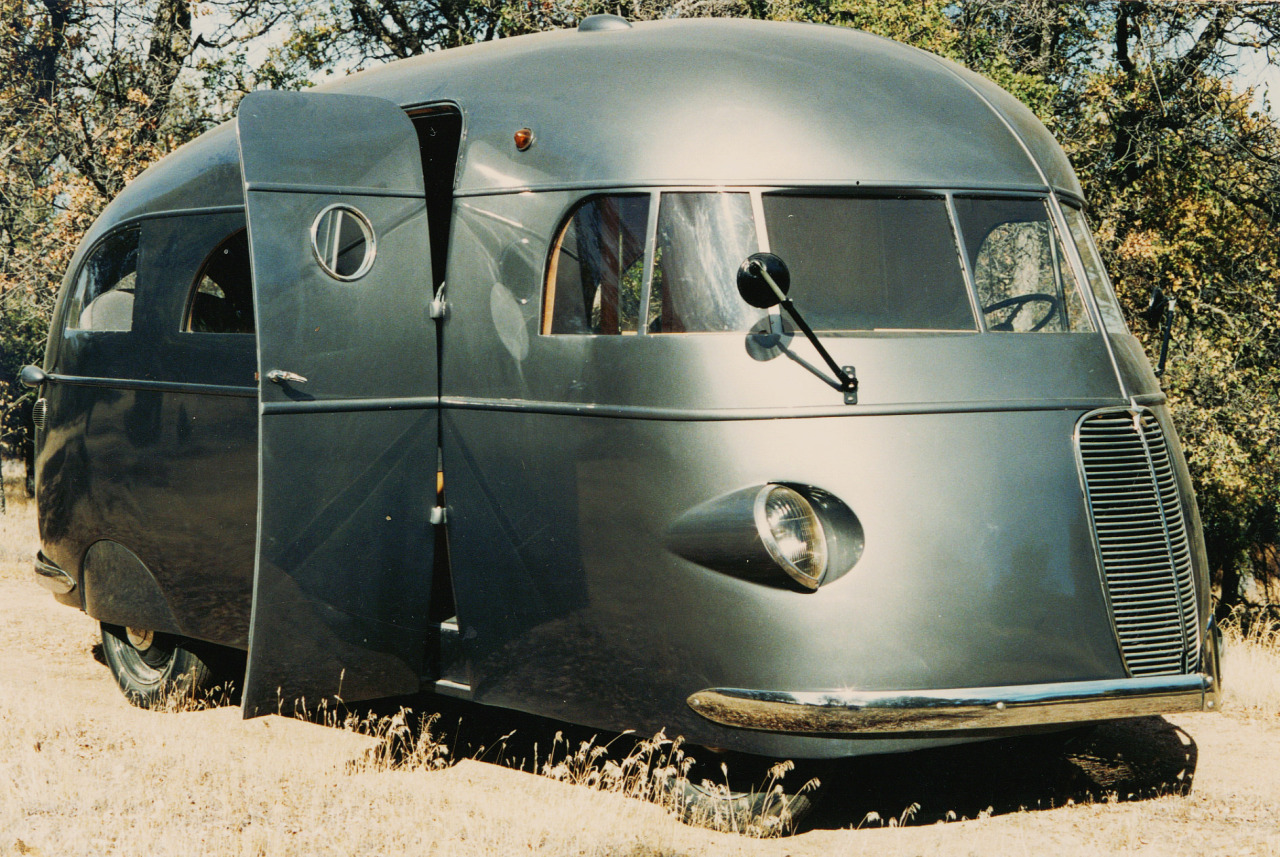 Mid-Century Modern Freak | 1937 Hunt Housecar One of several very unique...