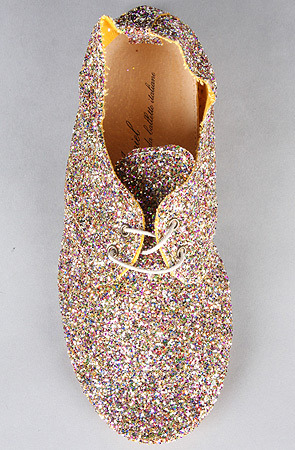 (via Anniel The Derby Glitter Shoe in Multicolor : MissKL.com - Cutting Edge Women's Fashion, Accessories and Shoes.)  I own these, and they are one of my favorite pairs of shoes. I CANNOT wait until warm weather comes so I can start wearing them again… I also have them in a sage green (no glitter). Use repcode FOXYSHAZAM at checkout!