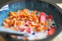 breakyfast:  cereal by Simply Stardust on Flickr.